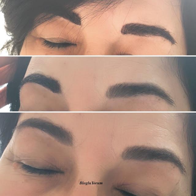 maybelline tattoo brow medium brown incelemesi 6