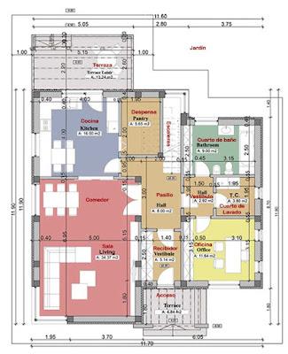 Casa Moderna de 2 Pisos