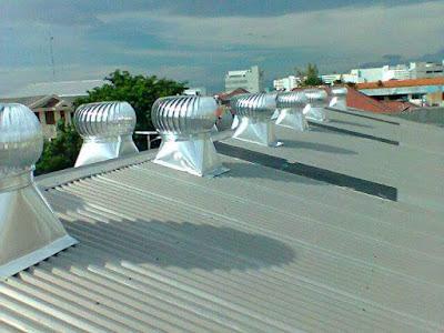 kipas atap, jenis ventilasi