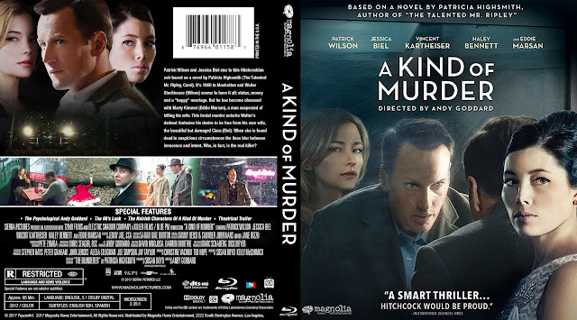 A Kind Of Murder Bluray Cover