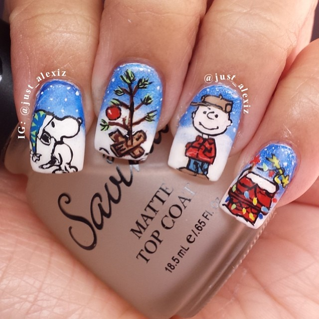 Christmas Nail Art Designs You Love To Try