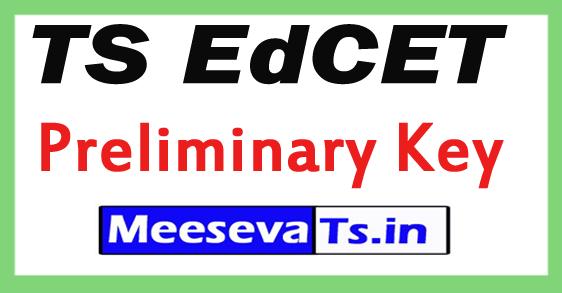 TS EdCET Preliminary Key 2017