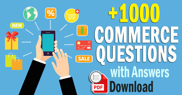 Commerce Questions with Answers (700 Objective Questions)