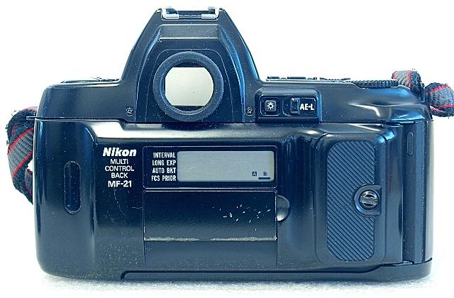Nikon F-801s, Back
