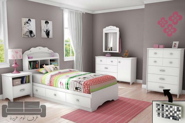 غرف نوم بنات، غرف نوم للبنات، كتالوج صور غرف نوم بنات كاملة