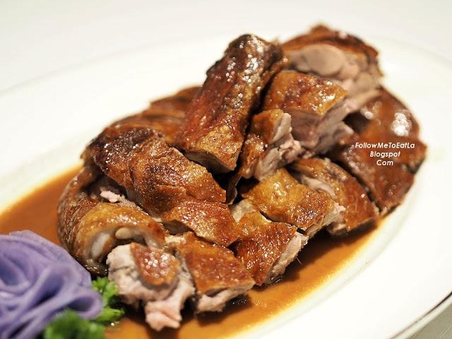 Wan Chun Ting Menu - Roasted Duck served with Plum Sauce
