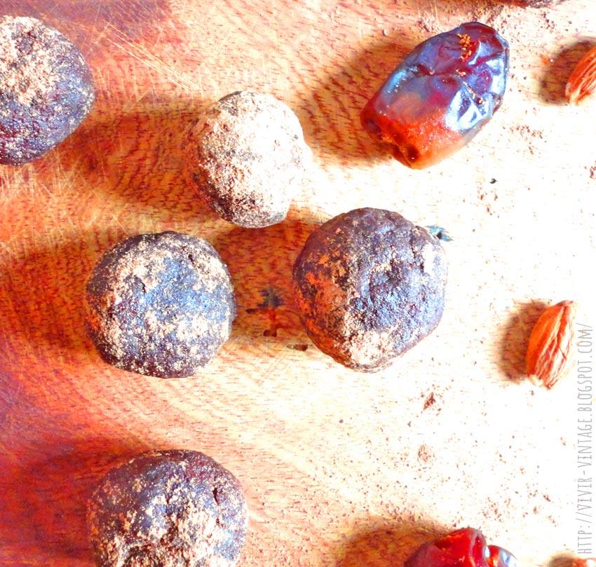 trufas de chocolate sanas