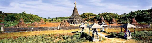Sakya Manaung Pagoda Mrauk U Rakhine Myanmar