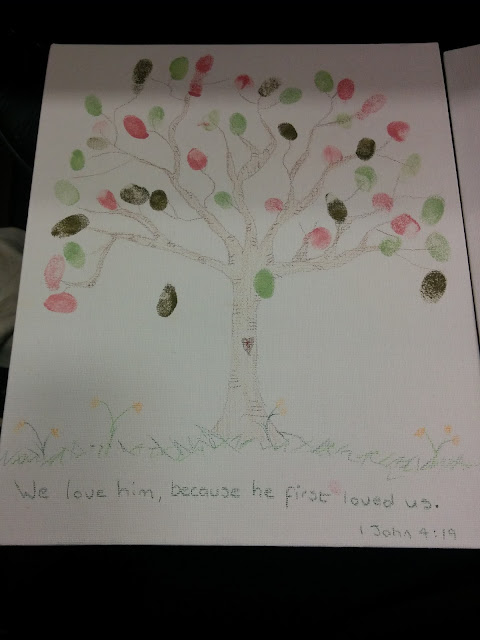 A Waterpencil Tree with Fingerprints