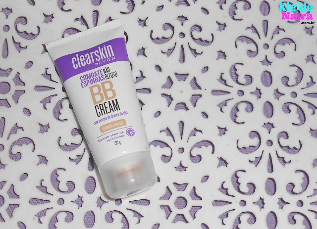 BB Cream da Clearskin da Avon Cor Escuro