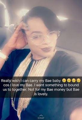 I wish I can get pregnant for bae - Popular Lagos gay Bobrisky
