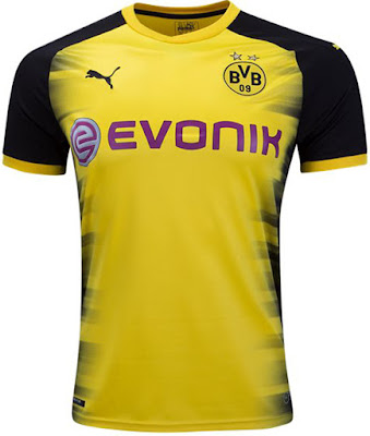 PUMA Borussia Dortmund European Home Jersey 17-18