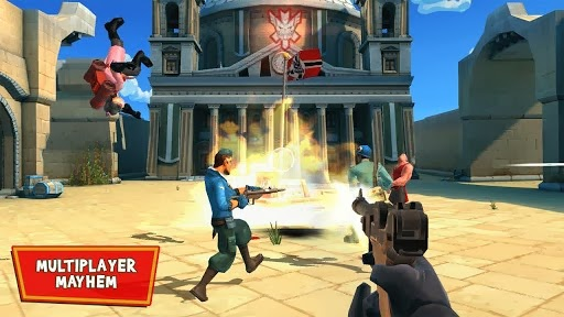 لعبة مجانية من أفضل العاب الحركة والقتال للأندرويد Blitz Brigade - Online FPS fun APK