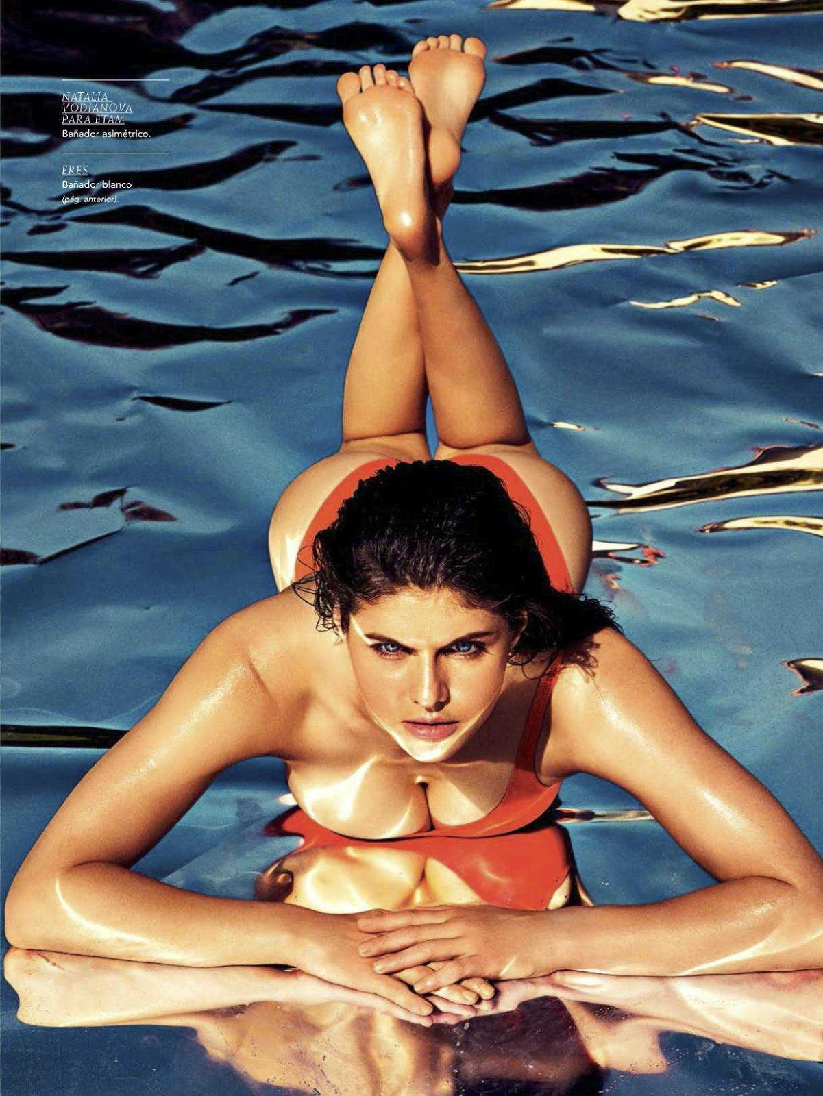 Alexandra Daddario in GQ Spain Magazine – July/August 2017