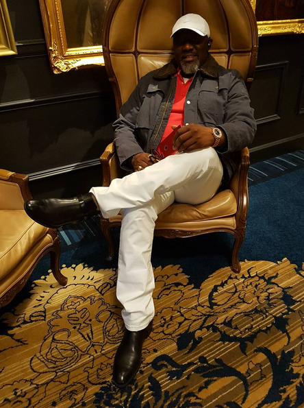 Dino Melaye new photos in US 1