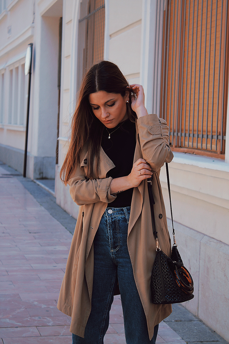 trench coat look moda primavera