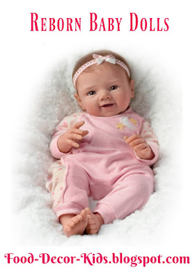 Reborn Baby Dolls food-decor-kids.blogspot.com