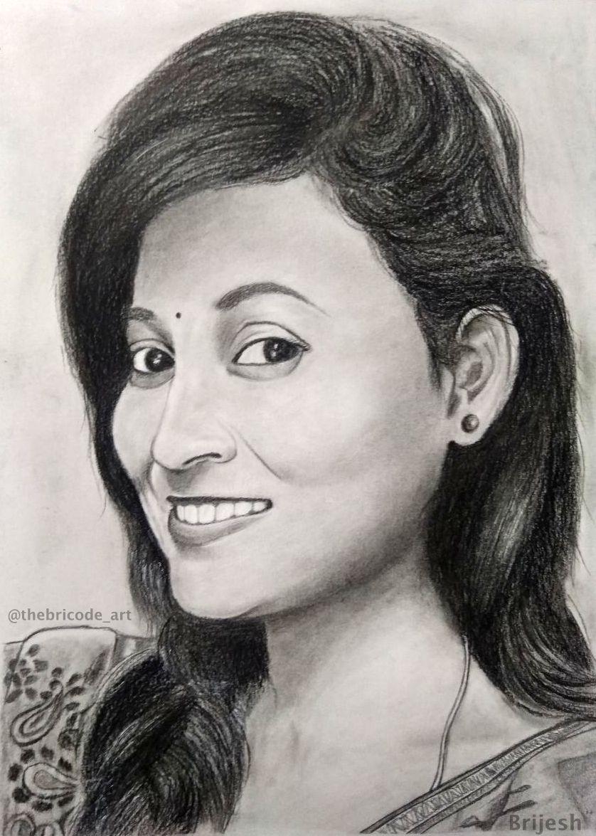 Beautiful girls sketch