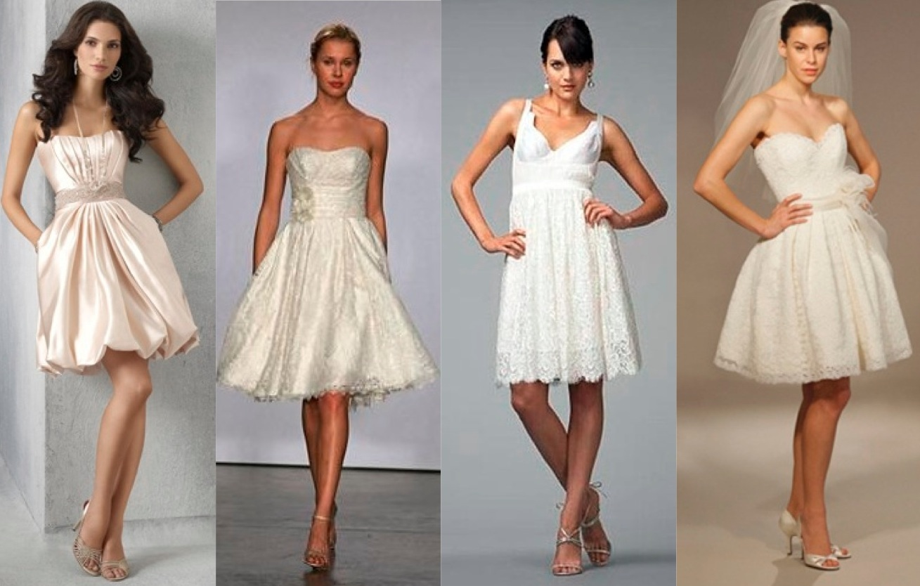 WEDDING DRESS BUSINESS I Love Short Wedding Dresses
