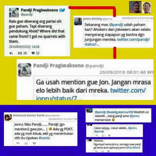 Kocak! Jonru Tarik Dukungan untuk Anies Baswedan, Malah Ribut dengan Pandji, Dibully Netizen Pula.