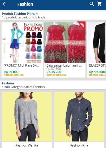 Fashion Online Kudo