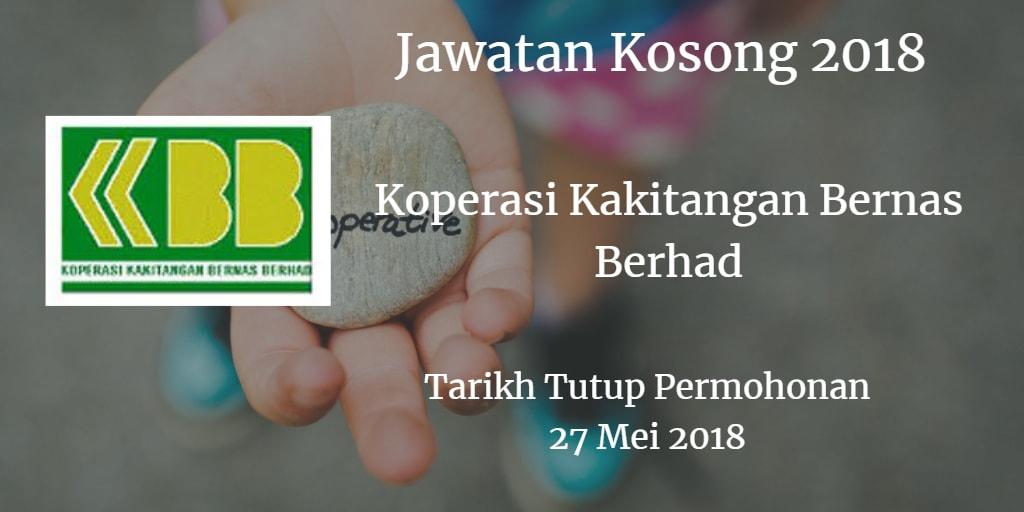 Jawatan kosong Koperasi Kakitangan Bernas Berhad 27 Mei 2018