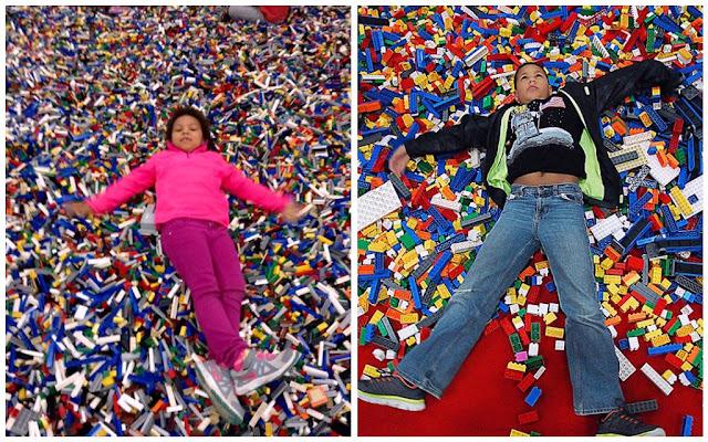 LEGO KidsFest pile of bricks