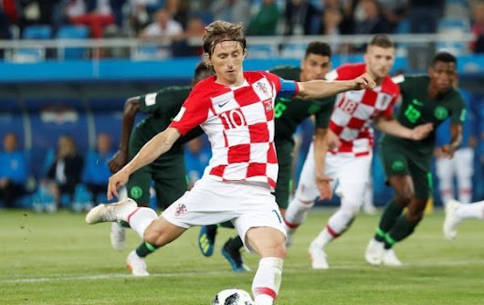 Croatia hunts Nigerian Eagles and leads the fourth group World Cup Russia 2018