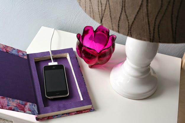 la reines blog ladestation basteln stylisch kabel. Black Bedroom Furniture Sets. Home Design Ideas