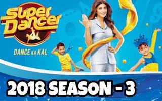 Super dancer 3, super dancer 2018
