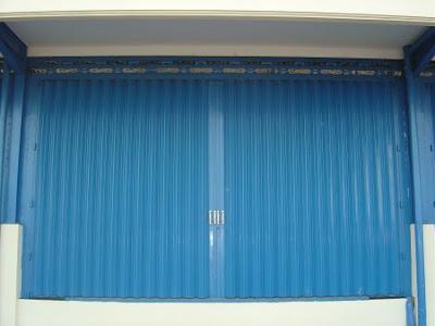 Distributor Pintu Besi Harmonika Murah