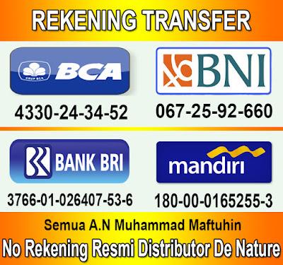 Nomor Rekening Untuk Pembayaran