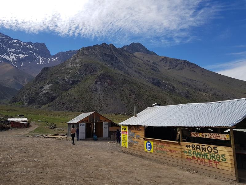 Passeio de Santiago a Cajon del Maipo