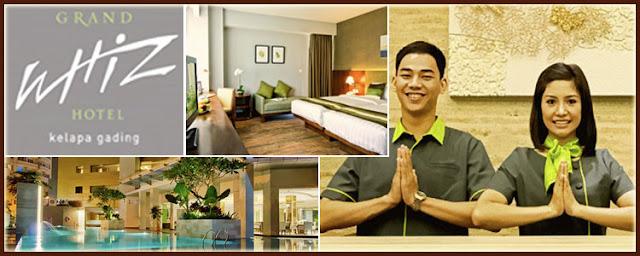 Review Grand Whiz Hotel Kelapa Gading, Jakarta