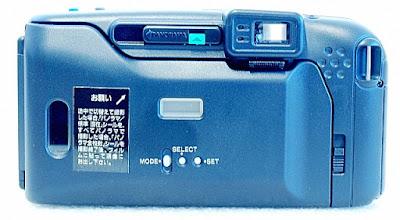 Olympus IZM220, Back