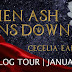 When Ash Rains Down by Cecelia Earl | Cast + Giveaway