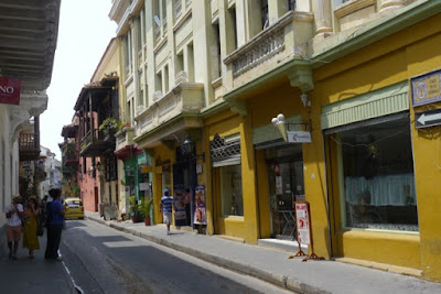 Tanner in Cartagena, Kolumbien