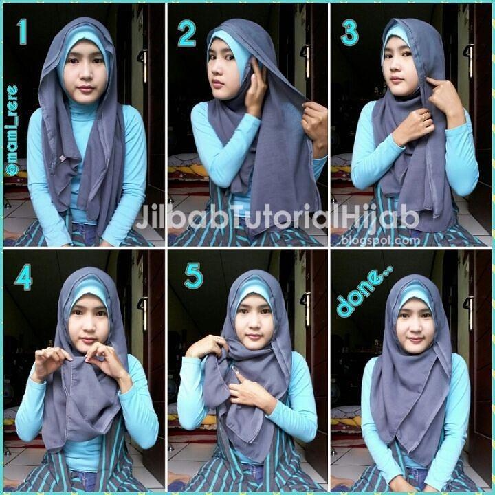 Mari Berhijab Tutorial Hijab Muka Bulat Pipi Tembem