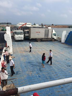 Thông tin Phà Thạnh Thới chở xe ô tô, xe gắn máy từ Hà Tiên sang Phú Quốc