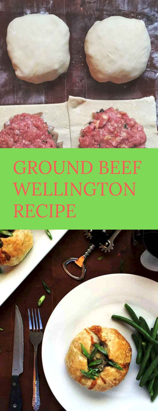 GROUND BEEF WELLINGTON RECIPE #BEEFRECIPES #DINNER