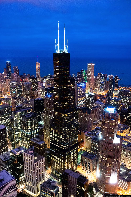 Обои небоскребы, мичиган, chicago, чикаго, иллиноис. Города foto 14