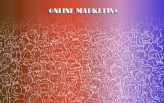 online marketing wallpaper