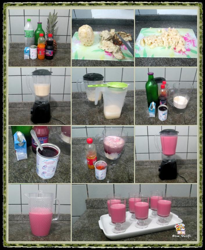 Coqueteis de frutas sem álcool 3