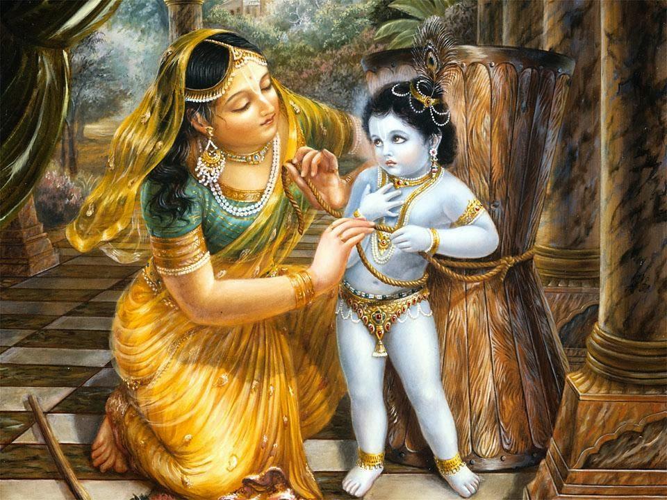 Mahabharat-Krishna-Dan-Yashoda-HD-Wallpaper