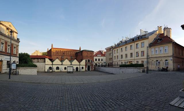 La sinagoga vieja de Cracovia