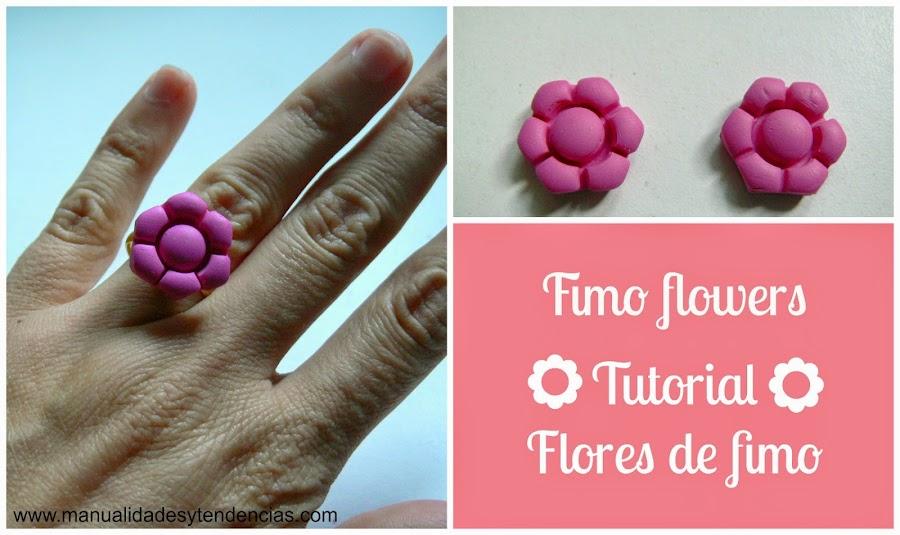 Tutorial flor de fimo / Fimo flower tutorial