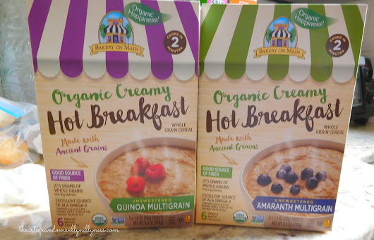 Bakery on Main's Organic Creamy Hot Breakfast Review and Giveaway!
