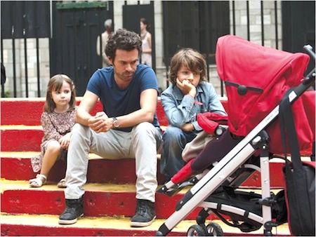 Film casse-tête chinois avec Romain Duris et ses enfants Erasmus