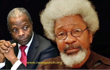 Prof  Wole Soyinka and Osinbajo