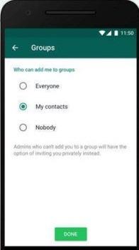 كيف تمنع إضافتك إلى مجموعات الواتساب منع إضافتي إلى جروبات الواتس اب